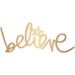 Believe Word Oh What Fun Metal Die Heidi Swapp