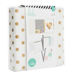 Gold Foil Dots Large Memory Planner Heidi Swapp