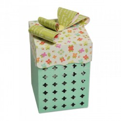 Box Cupcake Thinlits Plus Dies Sizzix