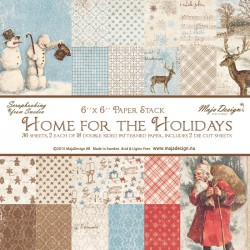 "Carte 6""x6"" Home for the Holidays Collection Maja Design"