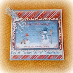 "Card ""Winter Holiday"" KIT"