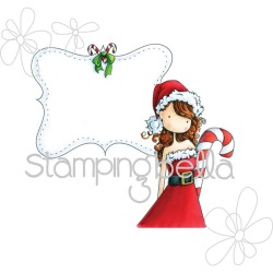 Uptown Girl Callista Loves To Craft Stamping Bella Cling Rubber Stamp