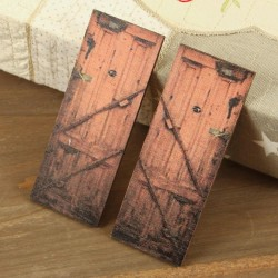 Wooden Doors Embellishment 2 Pkg Prima Marketing