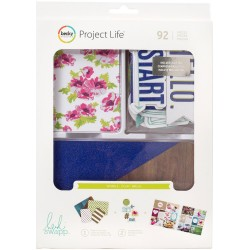 Clear Heidi Swapp Project Life Value Kit 82 Pkg American Crafts