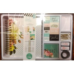 Beautiful with Gold Foil Memory Planner Boxed Kit