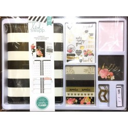 Black & White with Gold Foil Memory Planner Boxed Kit