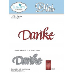 Danke A Way With Words Dies Elizabeth Craft Designs