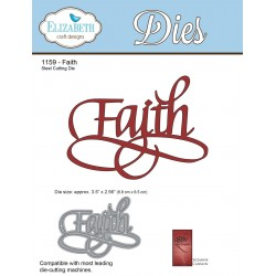 Faith A Way With Words Dies Elizabeth Craft Designs