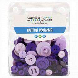 Purple Passion Bottoni Bonanza Buttons Galore & More