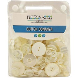 Ivory Bottoni Bonanza Buttons Galore & More