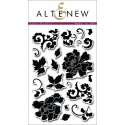 """Timbri Lacy Scrolls Clear Stamps 4""""x6"""" Altenew"""