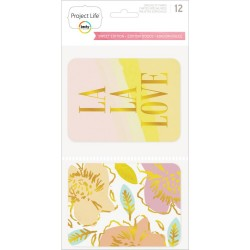 Sweet Edition With Gold Specialty Foil Cards Pack Assorted 12 Pkg Project Life