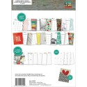"Life In Color Sn@p! Planner Set 6""x8"" Simple Stories"