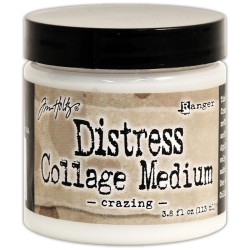 Distress Collage Medium Crazing Tim Holtz