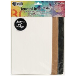 Small Journal Insert Sheets 12 Pkg Dyan Reaveley's Dylusions