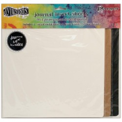 Square Journal Insert Sheets 12 Pkg Dyan Reaveley's Dylusions