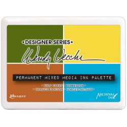 Permanent Mixed Media Ink Palette Designer Series by Wendy Vecchi