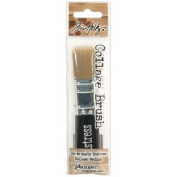 "Distress Distress Collage Brush 3/4"" Tim Holtz Ranger"