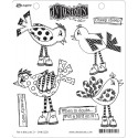 Put A Bird On It Dyan Reaveley's Dylusions Cling Stamp