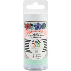 Fresh Floral Washi Tape Create 365 The Happy Planner 7 Pkg Me & My Big Ideas