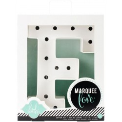 Letter KIT F Marquee Love Letters Numbers & Shapes 8,5 Heidi Swapp