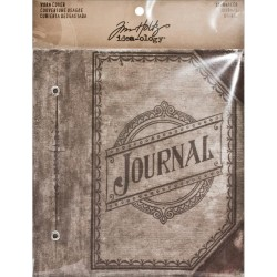 """Journal Worn Cover 5,25""""x7"""" Idea-Ology by Tim Holtz"""
