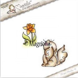 Timbro Magnolia Curious Wiola Kit Rubber Stamp - SF-16
