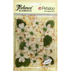 Fiori Petaloo Ivory Dogwood Canvas 24 Pkg