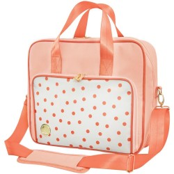 Blush Dot Crafter's Shoulder Bag We R Memory Keepers