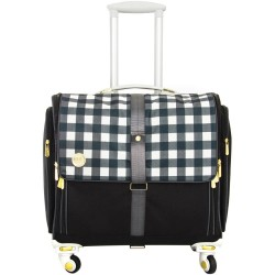 Blush Dot 360 Crafter's Rolling Bag We R Memory Keepers