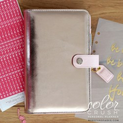 Platinum Rose Color Crush Personal Planner Kit Webster's Pages