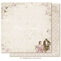 "Love is in the Air 12""x12"" Vintage Romance Collection Maja Design"
