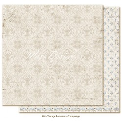 "Champagne 12""x12"" Vintage Romance Collection Maja Design"
