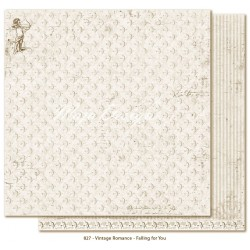 "Falling for You 12""x12"" Vintage Romance Collection Maja Design"