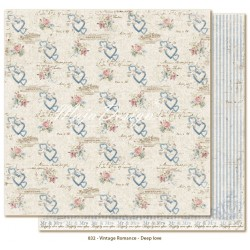 "Carta Deep Love 12""x12"" Vintage Romance Collection Maja Design"