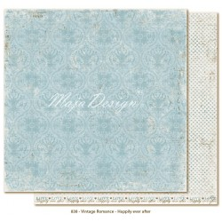 "Carta Happily ever After 12""x12"" Vintage Romance Collection Maja Design"