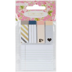 Sticky Notes Set Accents 5 Pkg Webster's Pages