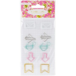 Paper Clips Planner & Stationary Accessories 10 Pkg Webster's Pages