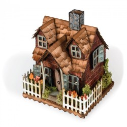 Village Bungalow Sizzix Bigz Die By Tim Holtz