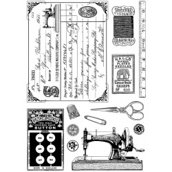 Sewing Notions Rubber Stamp Crafty Individuals
