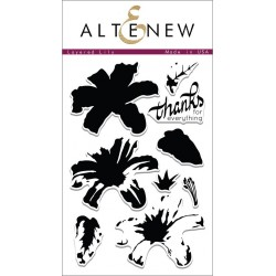 """Timbri Layered Lily Clear Stamps 4""""x6"""" Altenew"""