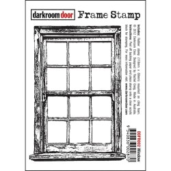 Timbro Window Cling Rubber Stamp Darkroom Door