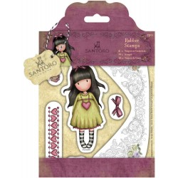 Heartfelt Gorjuss Rubber Stamps Santoro