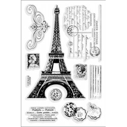 Eiffel Tower Clear Stamps Stampendous