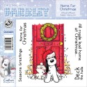 Timbri Home For Christmas Christmas with Barkley Cling Rubber Stamp Set Crafter's Companion