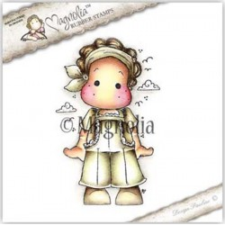 Timbro Magnolia Super Cute Tilda Rubber Stamp - SS-16