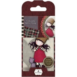 Timbro No. 10 Purrrrrfect Love Mini Gorjuss Rubber Stamps Santoro