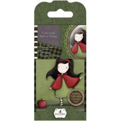 Timbro No. 14 Little Red Mini Gorjuss Rubber Stamps Santoro