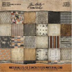 "Materialize Paper Stash 8""x8"" Idea-ology by Tim Holtz"