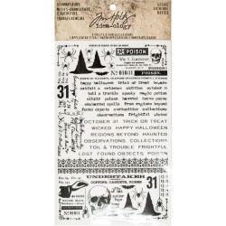 Gothic Remnant Rubs Idea-ology by Tim Holtz